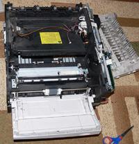 HP 2200dtn nie pobiera papieru - edit: NAPRAWIONO.
