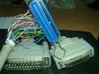 Przer�bka z��cza w drukarce Hp Laserjet 1100