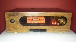 """Odtwarzacz kaset magnetofonowych """"Cezary"""" do zestawu RetroTower by bsw"""