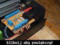 """Wzmacniacz """"tranzystorowy potwór"""" o mocy 1,5W RMS."""