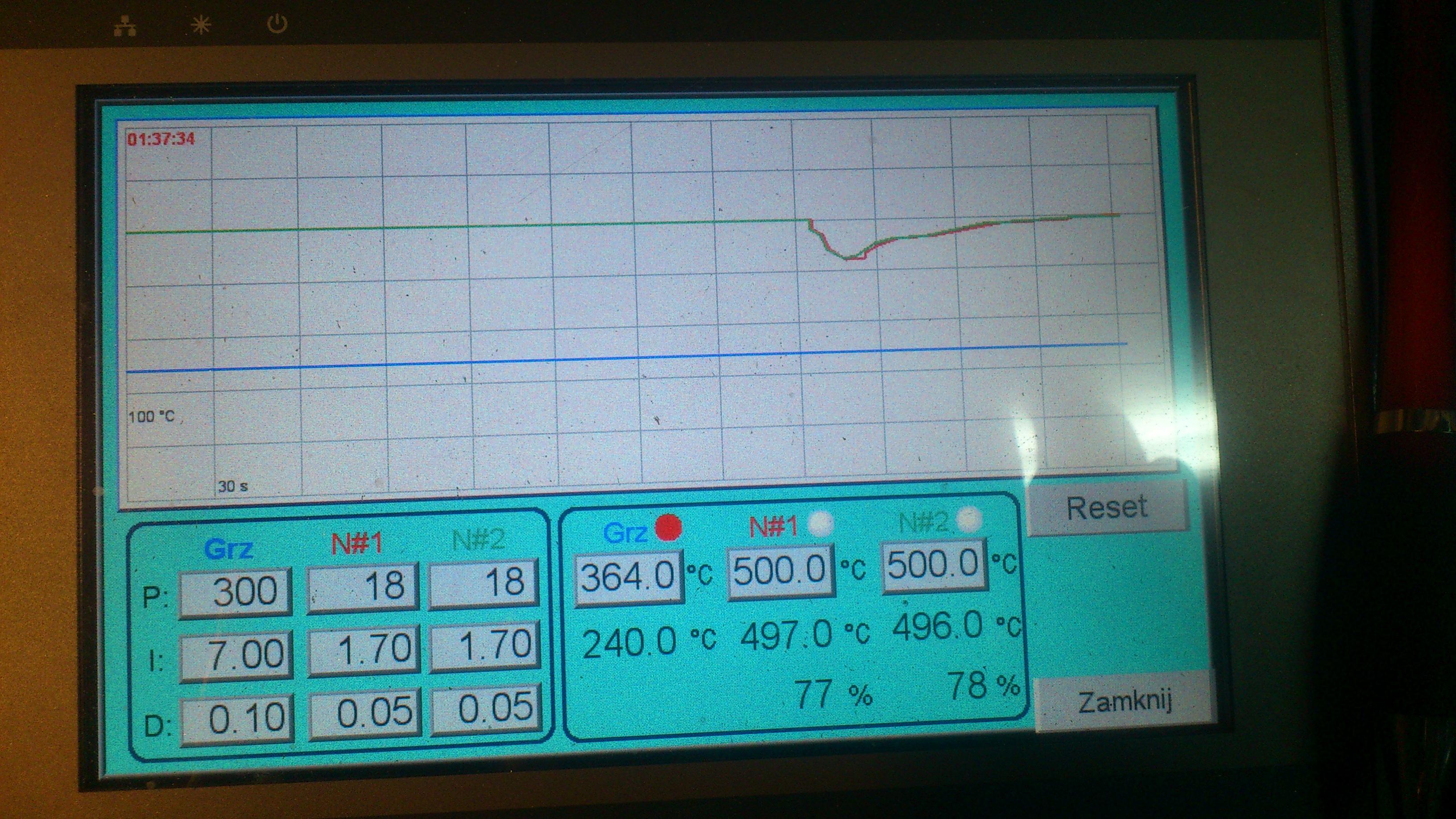 Fatek FBs-24MA - Czujnik temperatury, a regulacja PID w sterowniku fatek