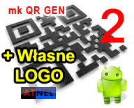 QR code generator 2 + LOGO - program na PC