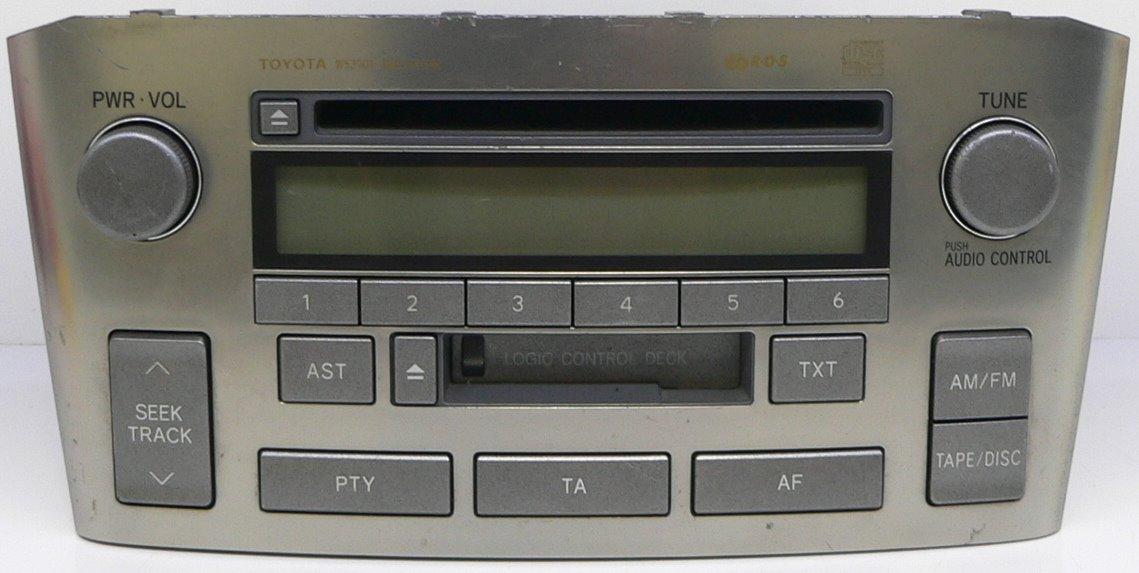 radio toyota avensis w53901 czy radio ma kod. Black Bedroom Furniture Sets. Home Design Ideas