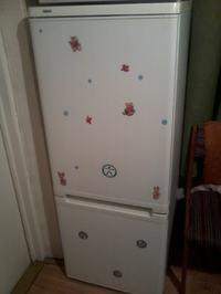 Zanussi lod�wka - Czerwony przycisk