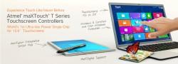maXTouch T - nowa seria kontroler�w nak�adek dotykowych firmy Atmel