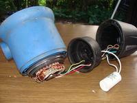 Pompa wodna nie działa i buczy .