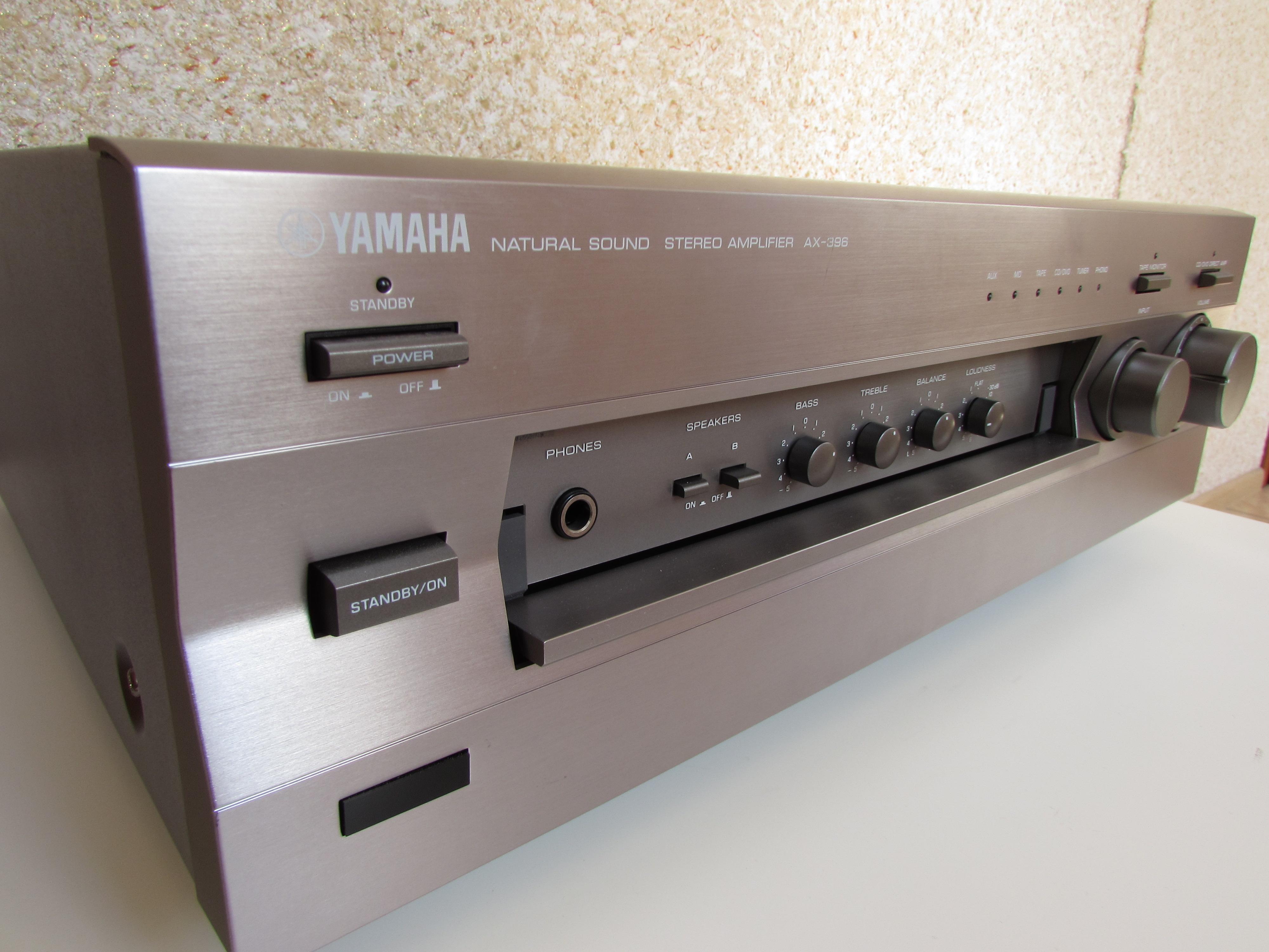 [Sprzedam] Wzmacniacze Stereo Yamaha Ax-450 i Yamaha Ax-396