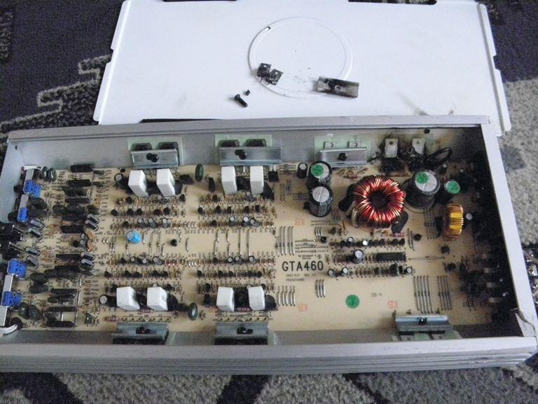 Blaupunkt GTA 460 schemat