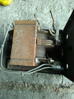 Instalacja elektryczna spawarki.