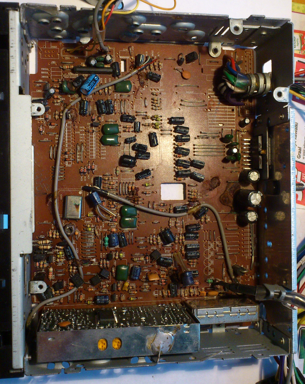 Eltra RPC 8006 - Brak napi�cia (0,25V) na pinie standby ko�c�wki TDA7377 .