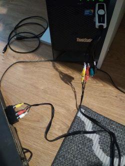 Podłączenie magnetowidu do komputera za pomocą wideo grabbera