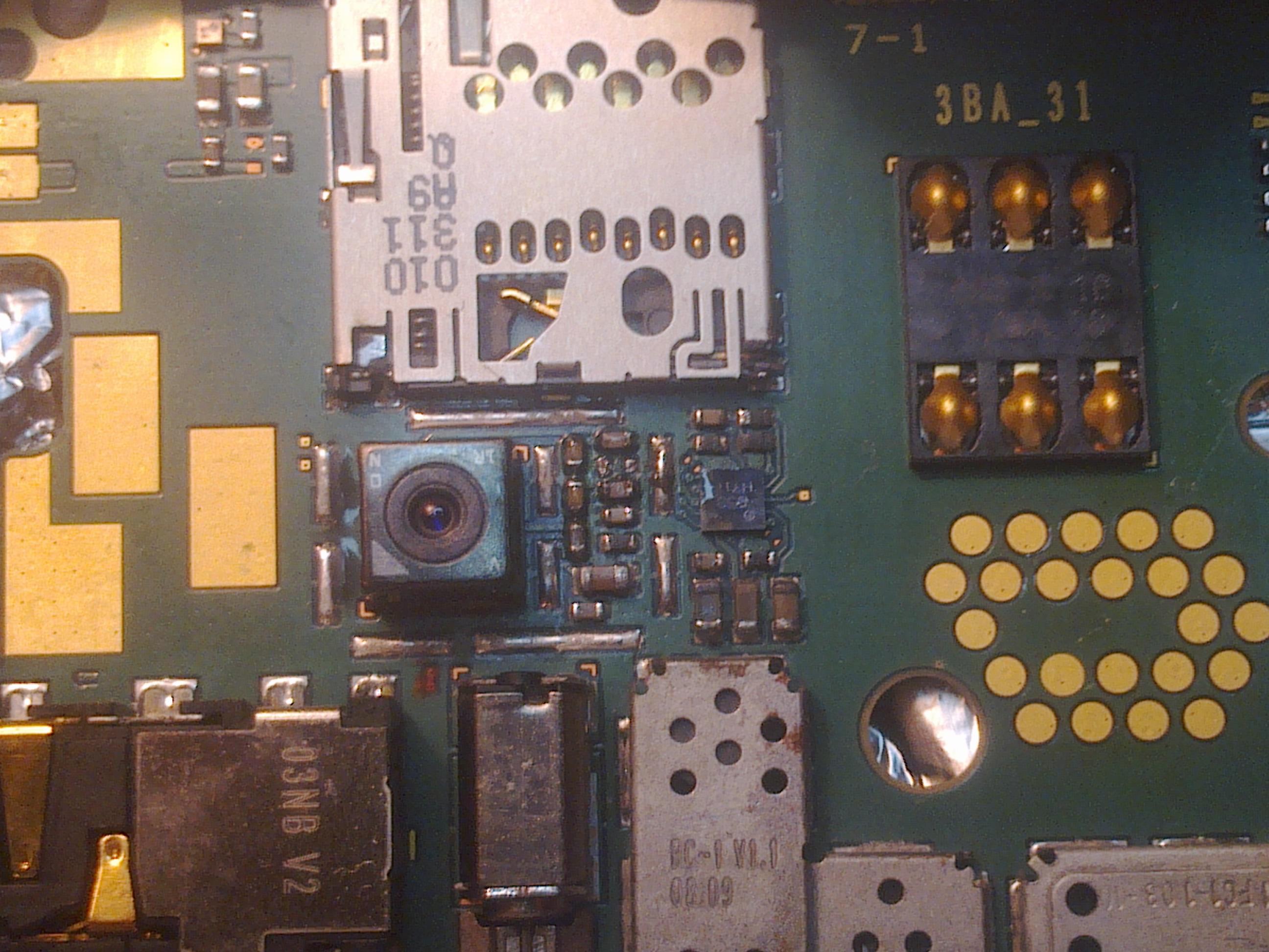 Nokia 2730 Brak schematu, nie dzia�a aparat i mmc
