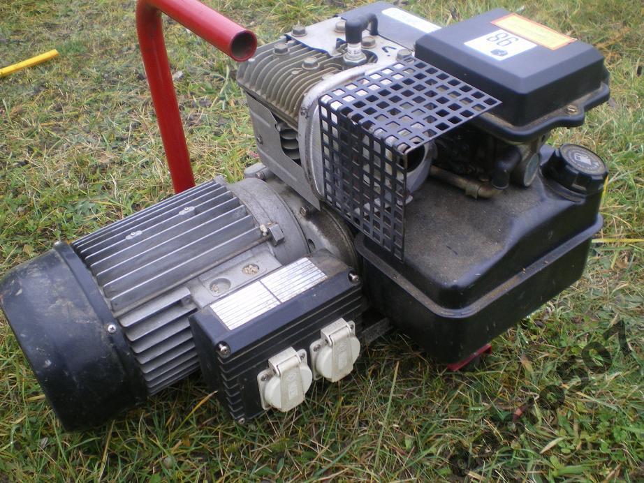 Bardzo dobra Agregat prądotwórczy Briggs&Stratton 2kVA a spawarka inwerterowa 160A HD75