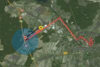 Google Latitude/Zakres b��du a Lokalizacja nadajnik�w