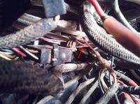 massey ferguson 6150 - obcięty przewód