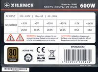 Xilence model: XP700- po wymianie tranzystorów po stronie pierwotnej