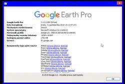 Google Earth Pro 2018 - Błąd certyfikatów SSL