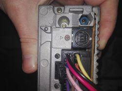 Sony CDX-MP40 - jak podłączyć antenę w Vw Polo IV 9n