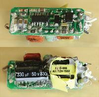 Co znajduje się wewnątrz LED-owych odpowiedników żarówki 60W.