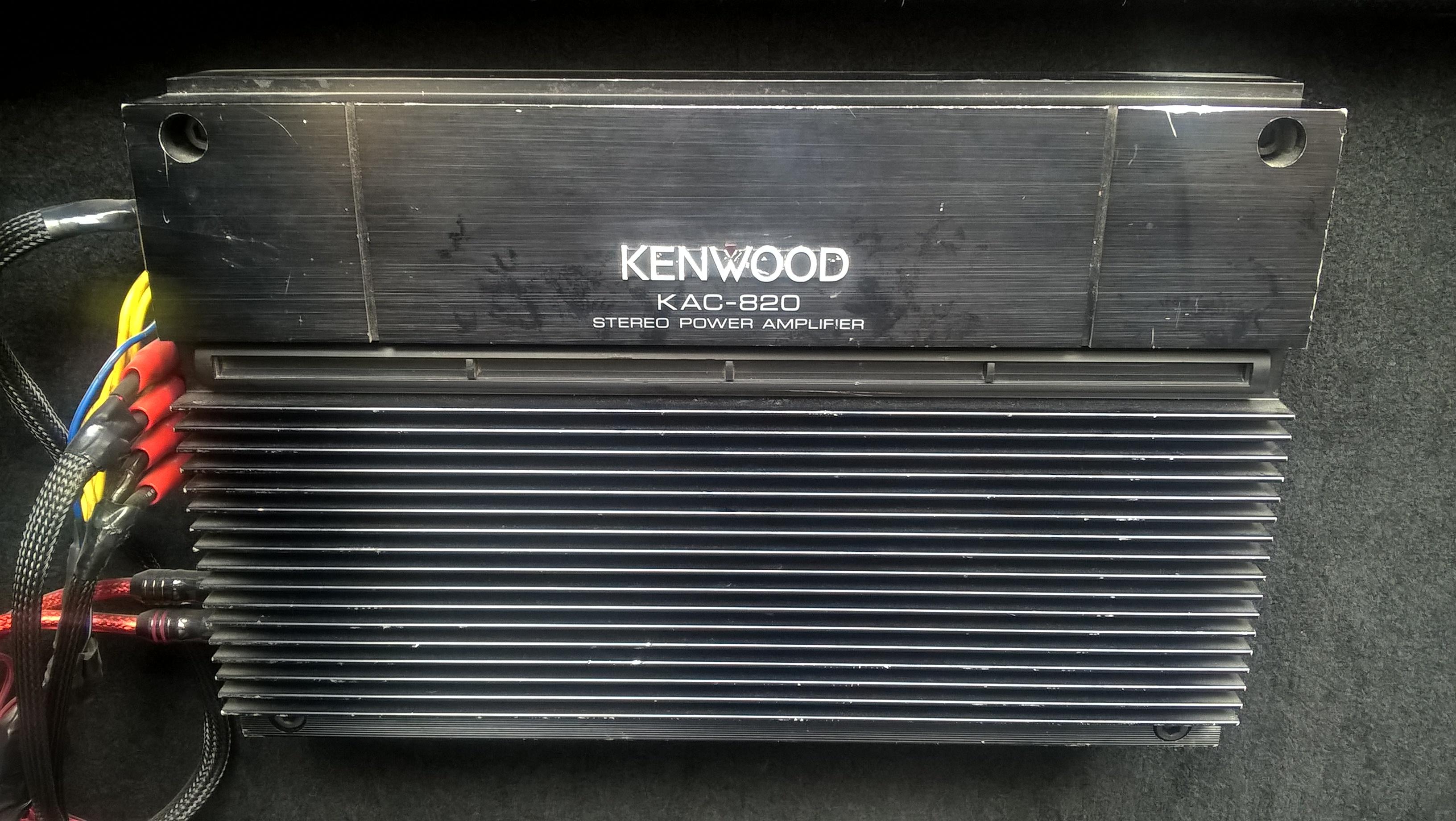 Sprzedam Wzmacniacz Samochodowy Kenwood Kac 820 Elektroda Pl
