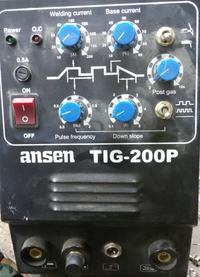 Spawarka ANSEN TIG-200P