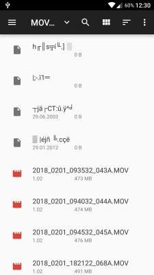 Odzyskanie folderu SOS z karty pamięci( wideorejestrator Navitel R800)