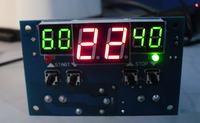Regulator mocy grzałek w zależności od temperatury wody zasilającej
