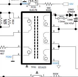 [Kupię] lub [Zlecę naprawę] transformatora impulsowego CLT9Z076ZE