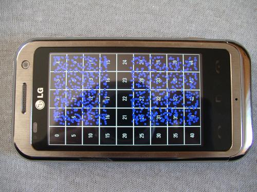 LG KM900 Arena - nie dzia�a cz�� ekranu dotykowego
