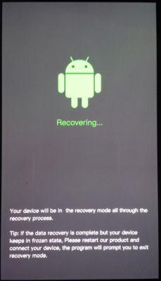 Samsung Galaxy S4 nie mogę zrobić hard resetu wyskakuje Recovering