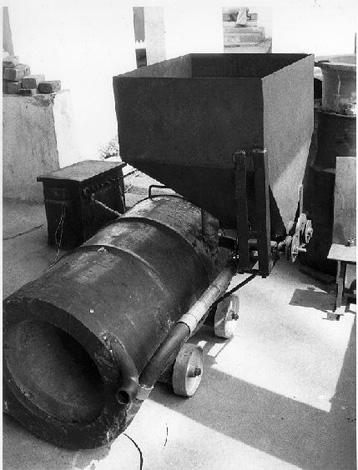 Piec-palnik na biomase, pytanie o budowe