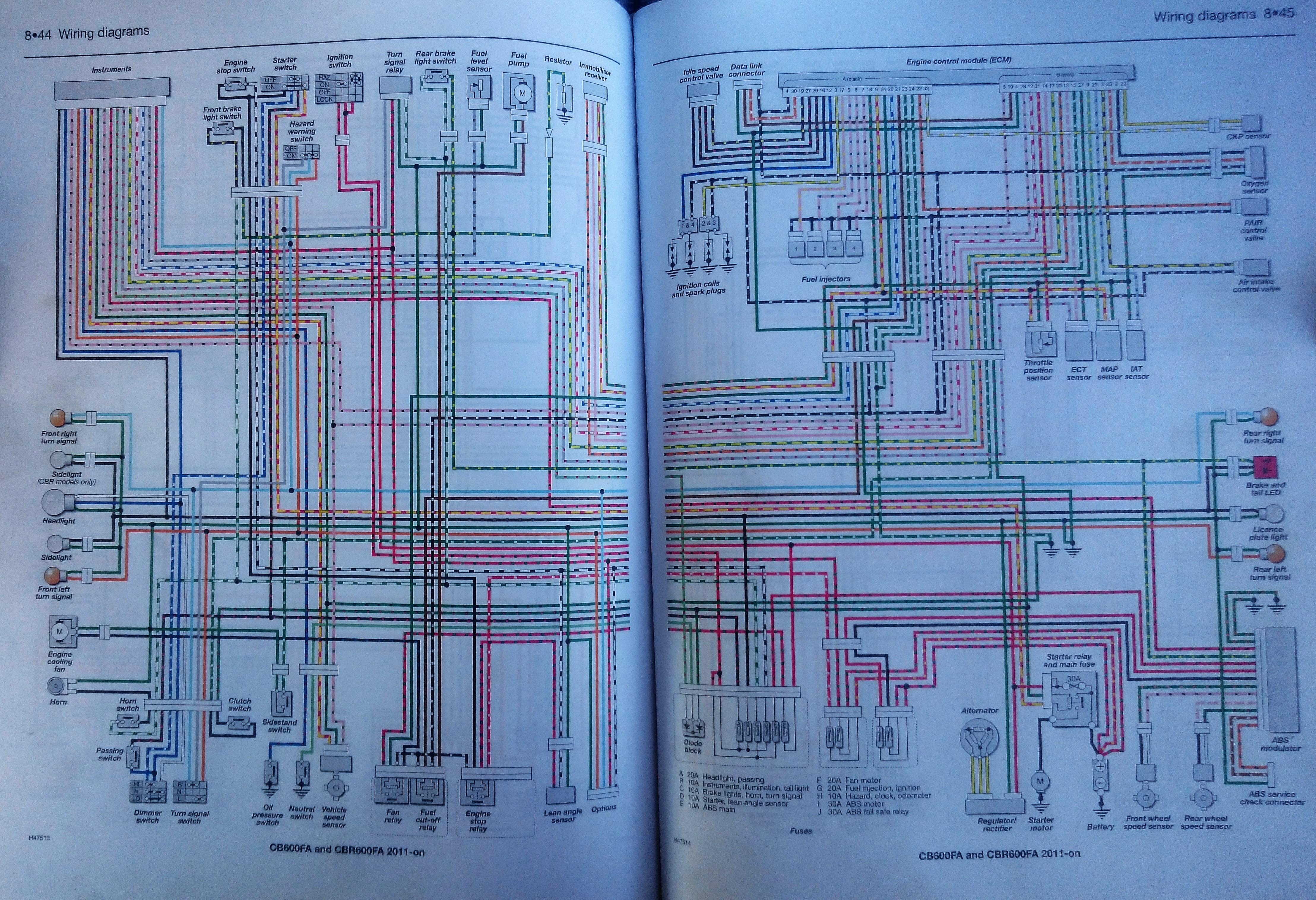 Honda Hornet 2011 Nie Dzialajace Kierunkowsazy Led Wire Diagram