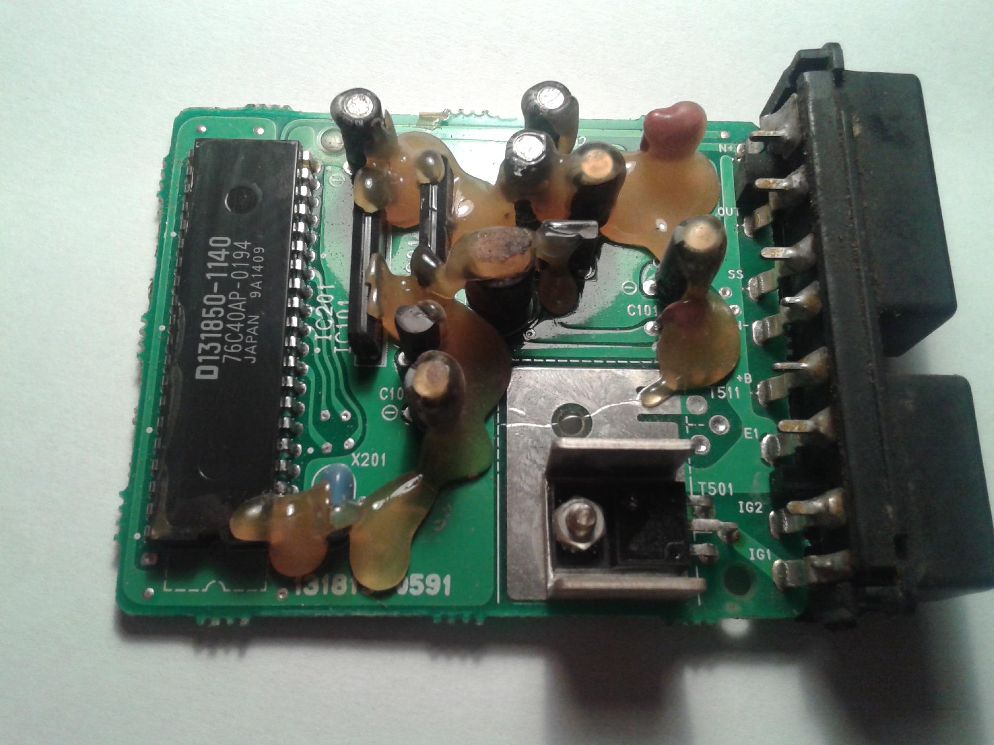 Co to za tranzystor z modu�u zap�onowego?