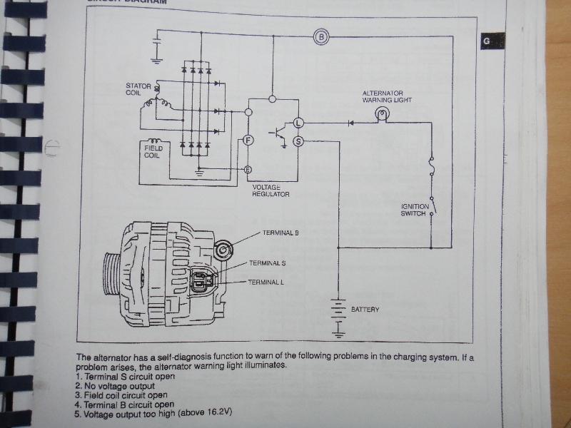 Pod��czenie Alternatora: Mitsubishi 100A MD343416