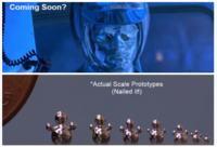 Poruszaj�cy si� p�ynny metal formuje humanoidalne kszta�ty (i nie tylko)