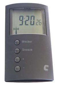 Zegar-budzik sterowany radiowo (DCF-77) - Instrukcja obsługi PL
