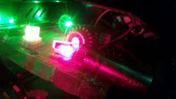 Prosty Laser RGY mojej konstrukcji