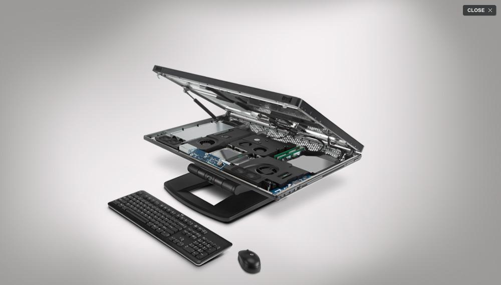 HP Z1 - pierwsza stacja robocza typu all-in-one z �atwo dost�pnym wn�trzem