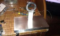 Zegar widmowy - propeller clock by hetm4n