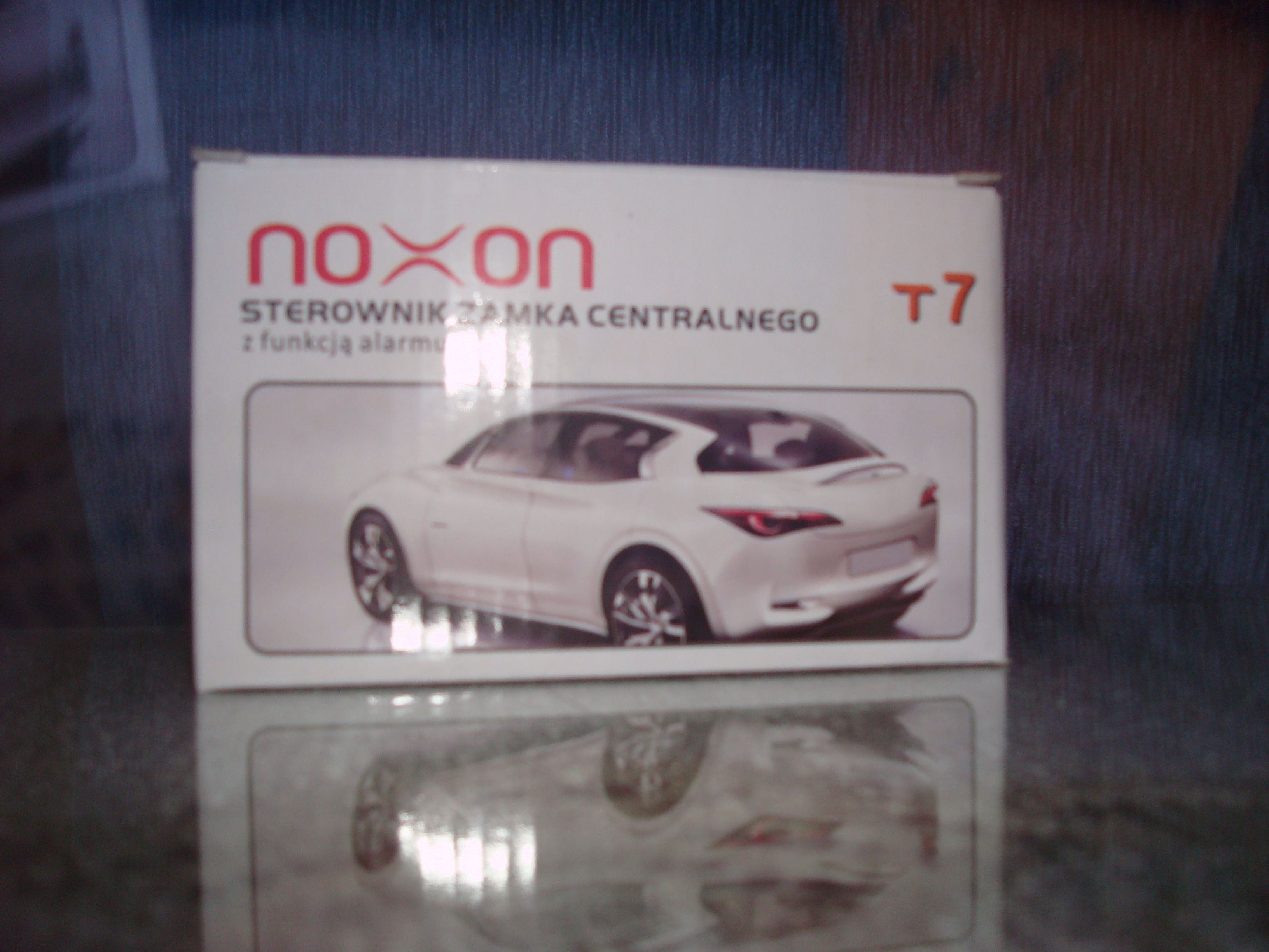 Sterownik centralnego zamka Noxon T7
