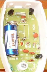 Termistorowy (100k) czujnik temperatury, załączanie alarmu