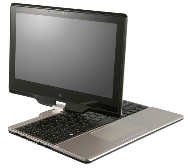 Gigabyte U2141 - konwertowalny notebook z Windows 8