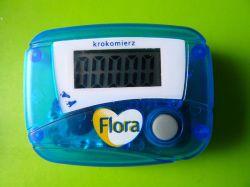 Licznik z kalkulatora z pamięcią wyniku.