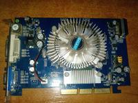 Karta 7600 GS AGP paski na ekranie (artefakty)