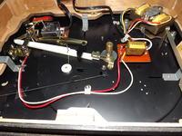 Wymiana kondensatora filtrującego w gramofonie