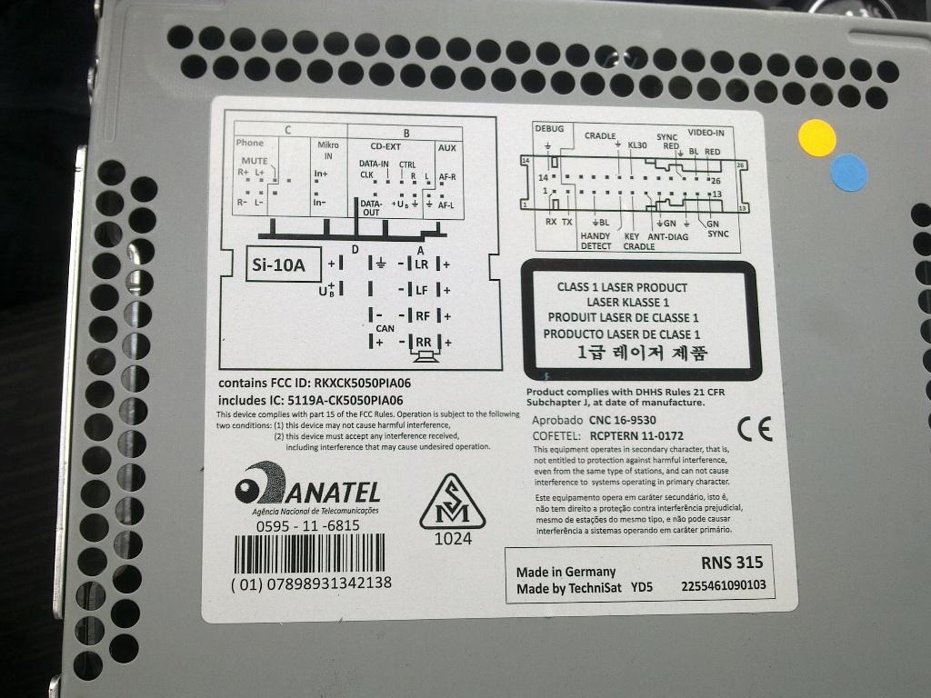 Rns315 Bluetooth Kodowanie Elektroda Pl