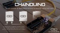 ChainDuino - kompatybilne z Arduino płyty pracujące na magistrali RS-485