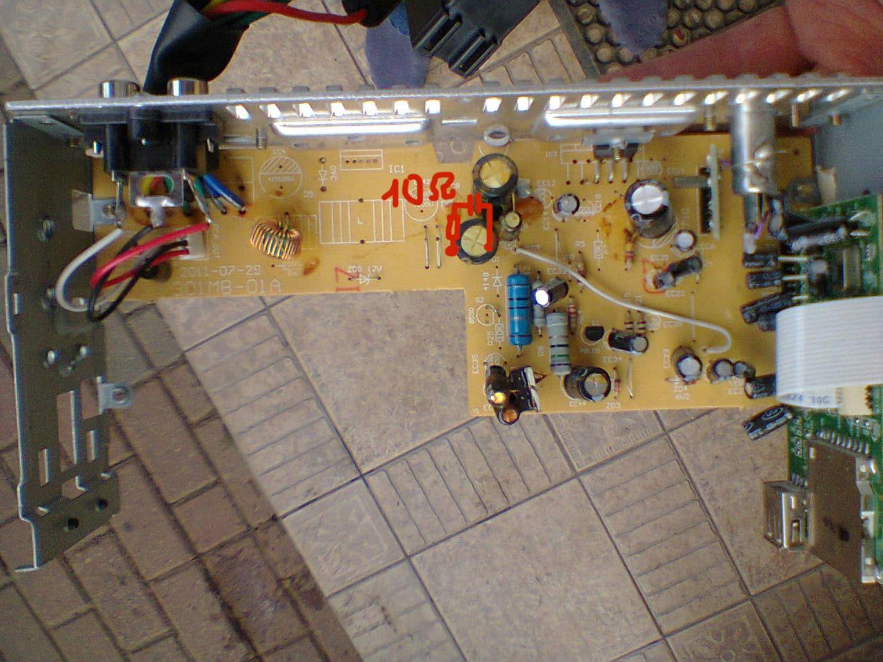 APOLLO GAMMA - Radio gra cicho, a na USB (mp3) bardzo g�o�no