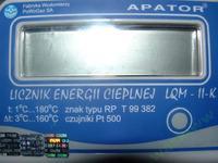 Cieplomierz Apator LQM II-k reset danych