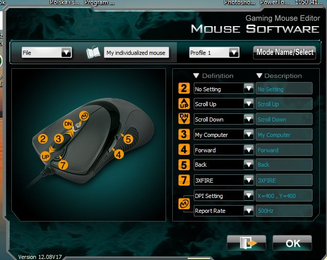 trust/g31/gaming mouse - Trust GXT 31 Gaming Mouse i k�opot z kalwiszami